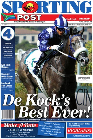 93219dc747ba4 10-12 Apr  2137 Sporting Post by Sporting Post - issuu