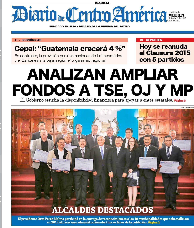 Diario de Centro América 08 de abril de 2015 by Diario de Centro ...