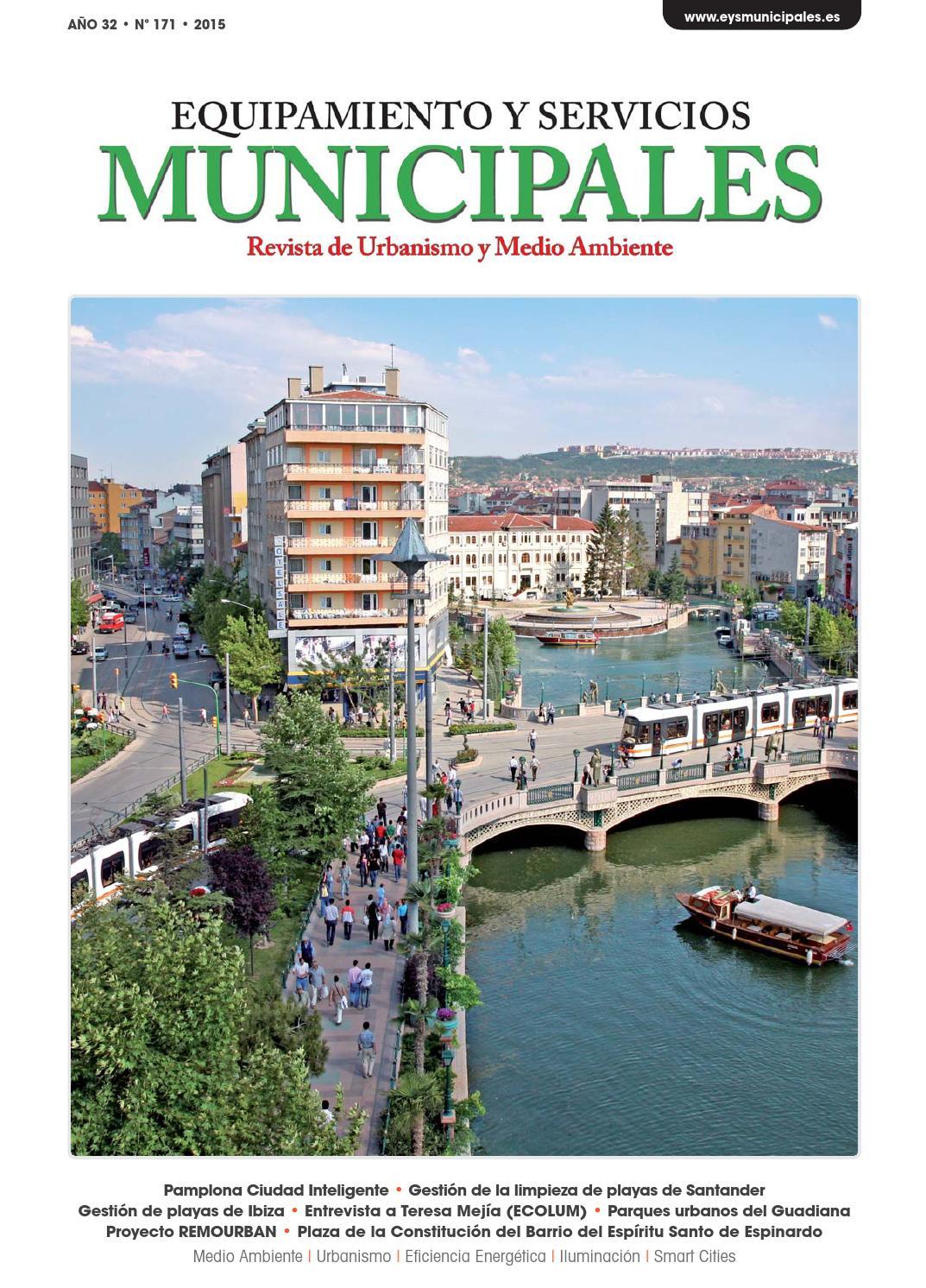 Equipamiento Y Servicios Municipales N 171 By Equipamiento Y  # Muebles Cazo Estepona