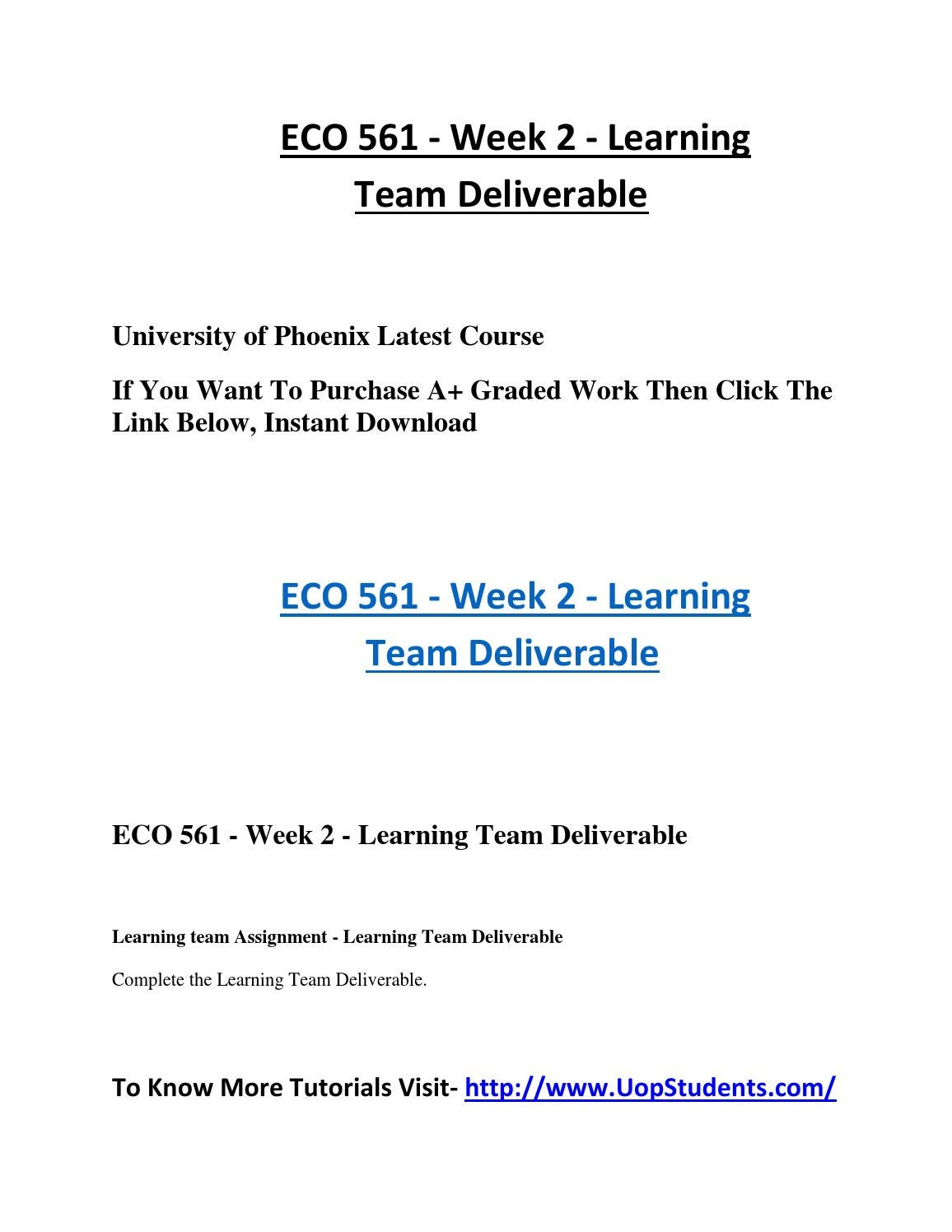 learning team deliverable essay Intervention a structured group education programme for six hours delivered in  the  the programme was six hours long, deliverable in either one full day or  two half day  summary of lifestyle outcomes at three years.