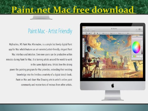 gratis paint mac