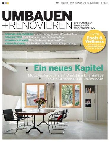 Umbauen Renovieren umbauen renovieren 3 2015 by archithema verlag issuu