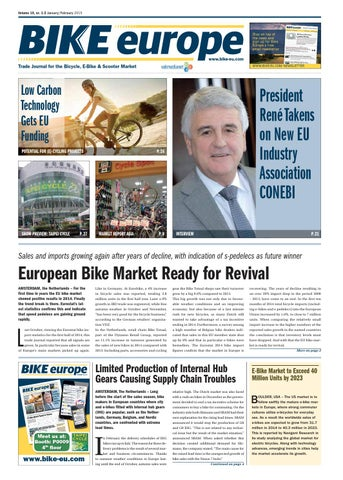 ab6263c024a Bike Europe, 2015, edition 1/2 by B+B Vakmedianet - issuu