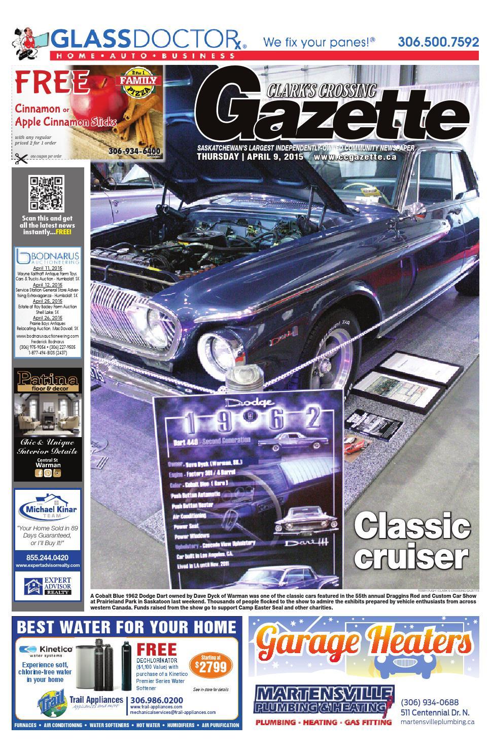 Clark S Crossing Gazette April 9 2015 By Jenson Publishing Issuu