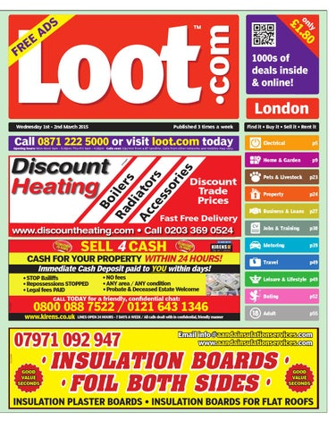 Loot London 1st April 2015 by Loot - issuu 58cd70e5a3a4