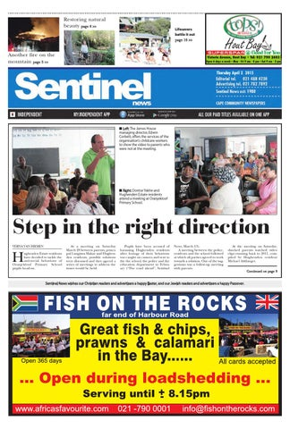 "Cover of ""Sentinel news"""