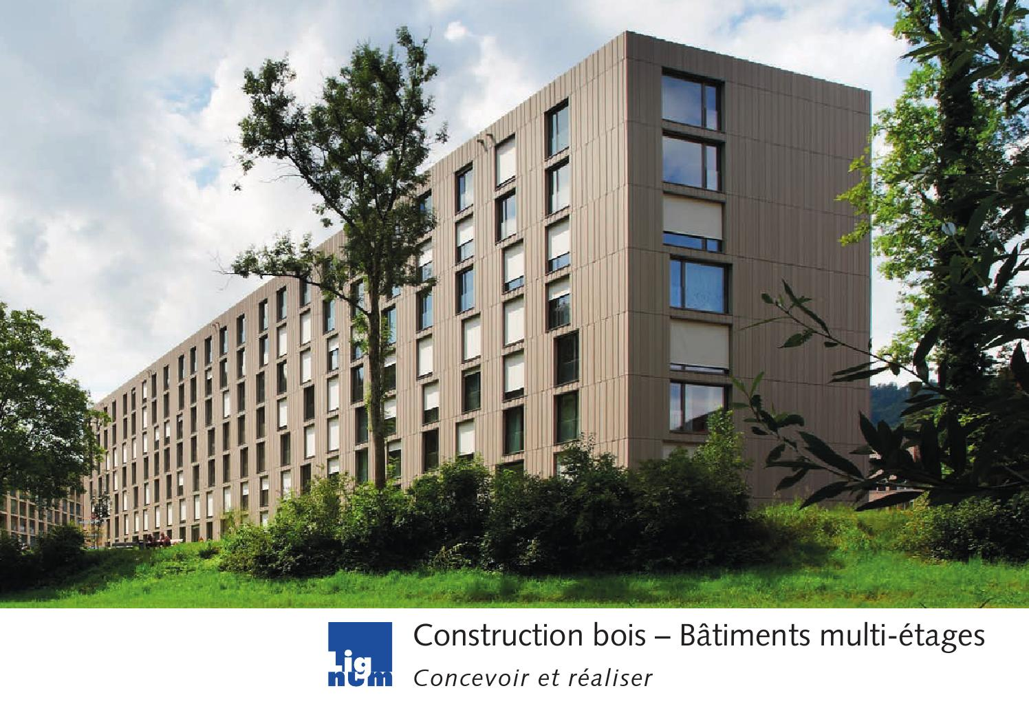 construction bois b timents multi tages by cedotec issuu