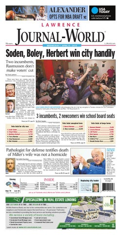 494d1a76fe67 Lawrence Journal-World 04-08-15 by Lawrence Journal-World - issuu
