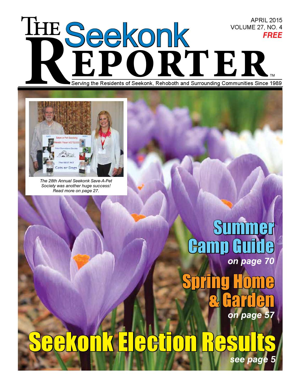 April 2015 Seekonk Reporter By Dick Georgia   Issuu