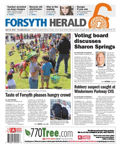 forsyth herald april 15 2015 by appen media group issuu