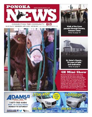 Ponoka News April 08 2015 By Black Press