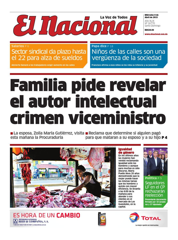 new concept 8ec05 6ea88 Impreso08 04 15 by Periodico El Nacional - issuu