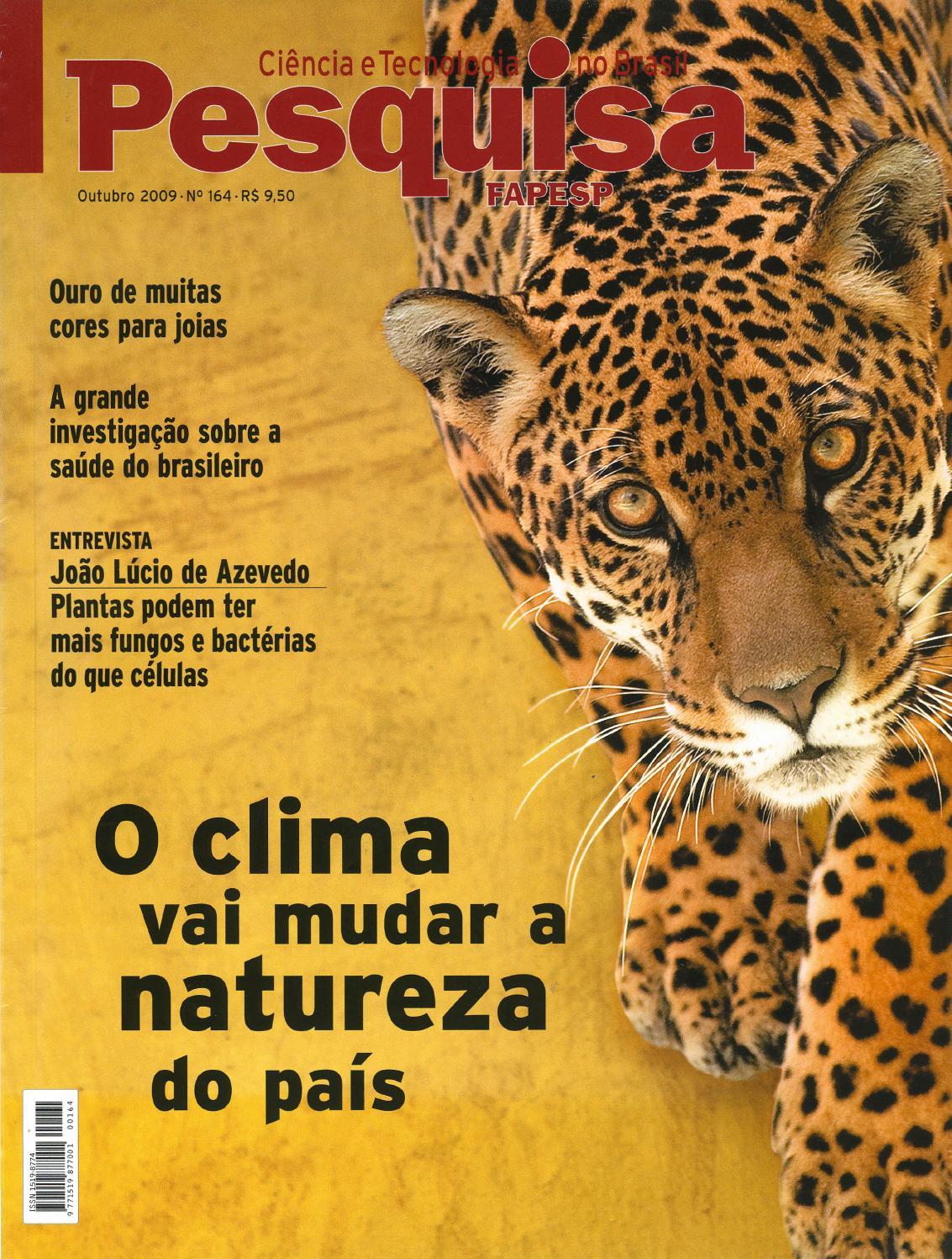 O clima vai mudar a natureza do país by Pesquisa Fapesp - issuu 3947556fb3