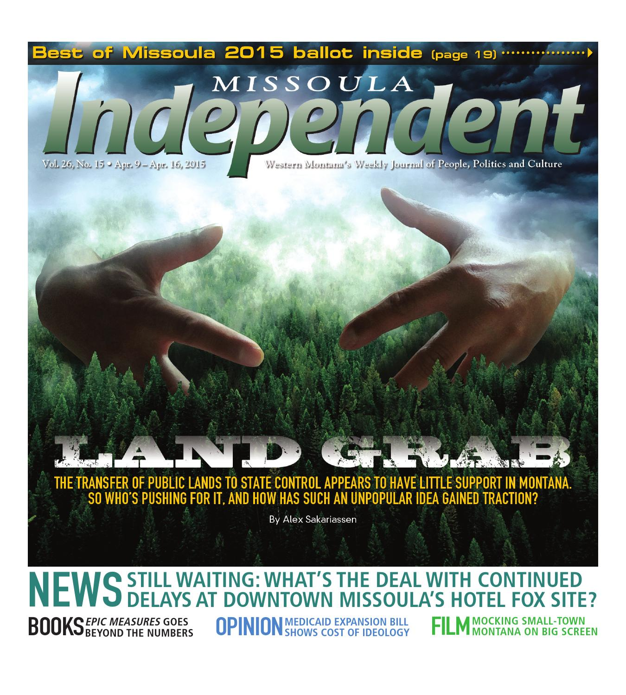 Missoula Independent By Publishing Issuu Elex Idea Blog Electronic Watchdog