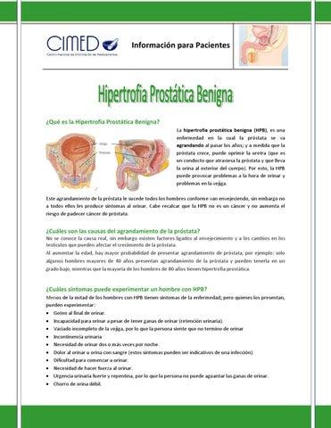 próstata hipertrófica e storiar