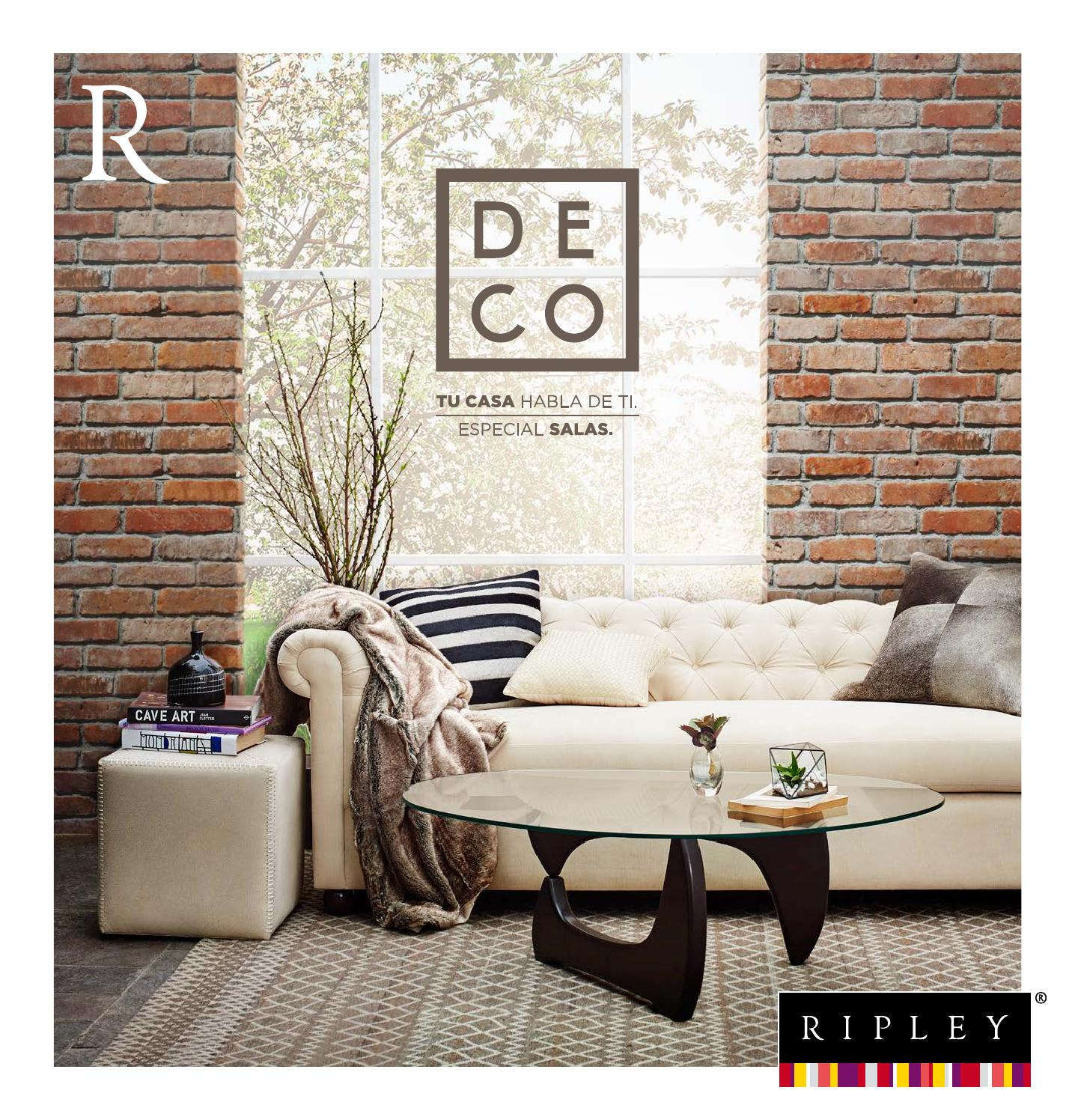 Deco especial salas by ripley peru issuu for Ripley muebles comedor