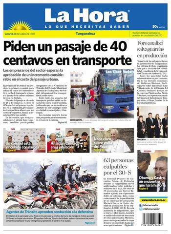 Ambato09abril2015 by Diario La Hora Ecuador - issuu b6e31aabe4f