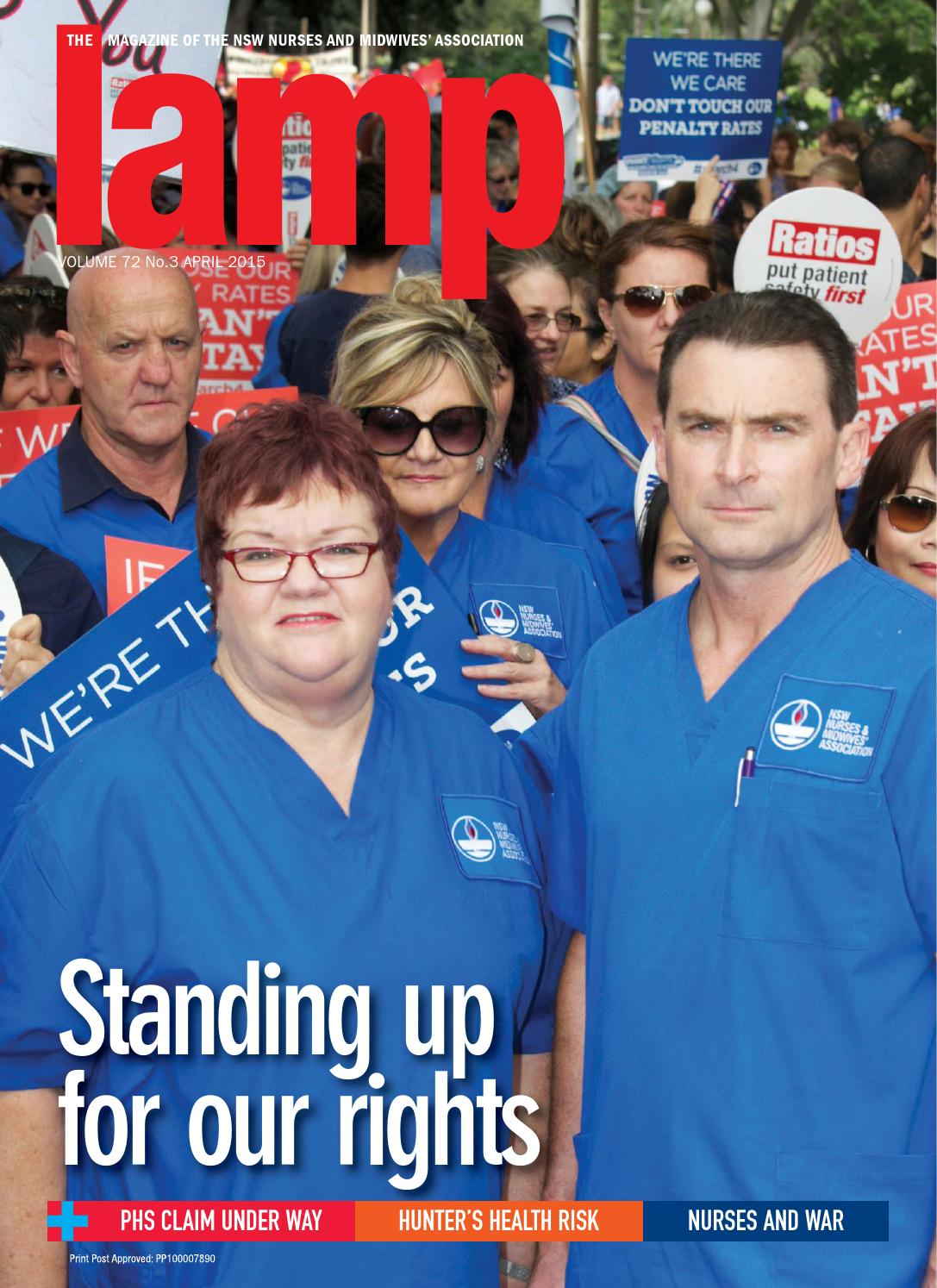 The Lamp April 2015 by NSW Nurses and Midwives  Association - issuu 01d294b6f6