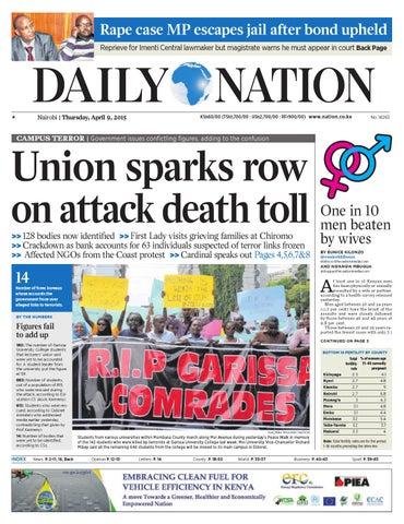 Daily Nation Apr 9th 2015 By HABA KWA HABA Issuu