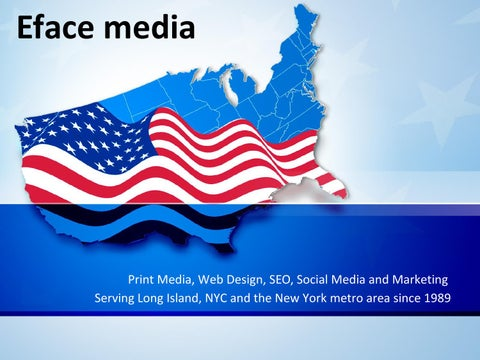 Web Design And Marketing Company Long Island By Mediaeface Issuu