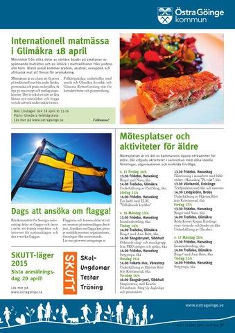Mtesplatser och aktiviteter - Kristianstads kommun