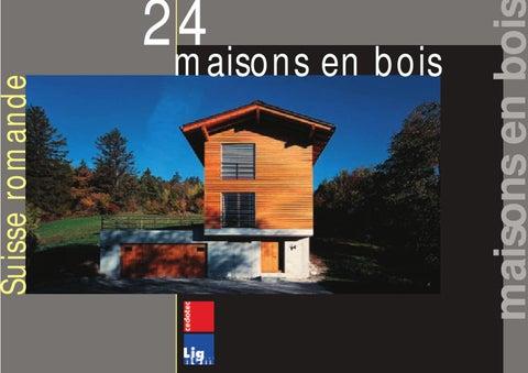 24 Maisons En Bois Suisse Romande By Cedotec Issuu