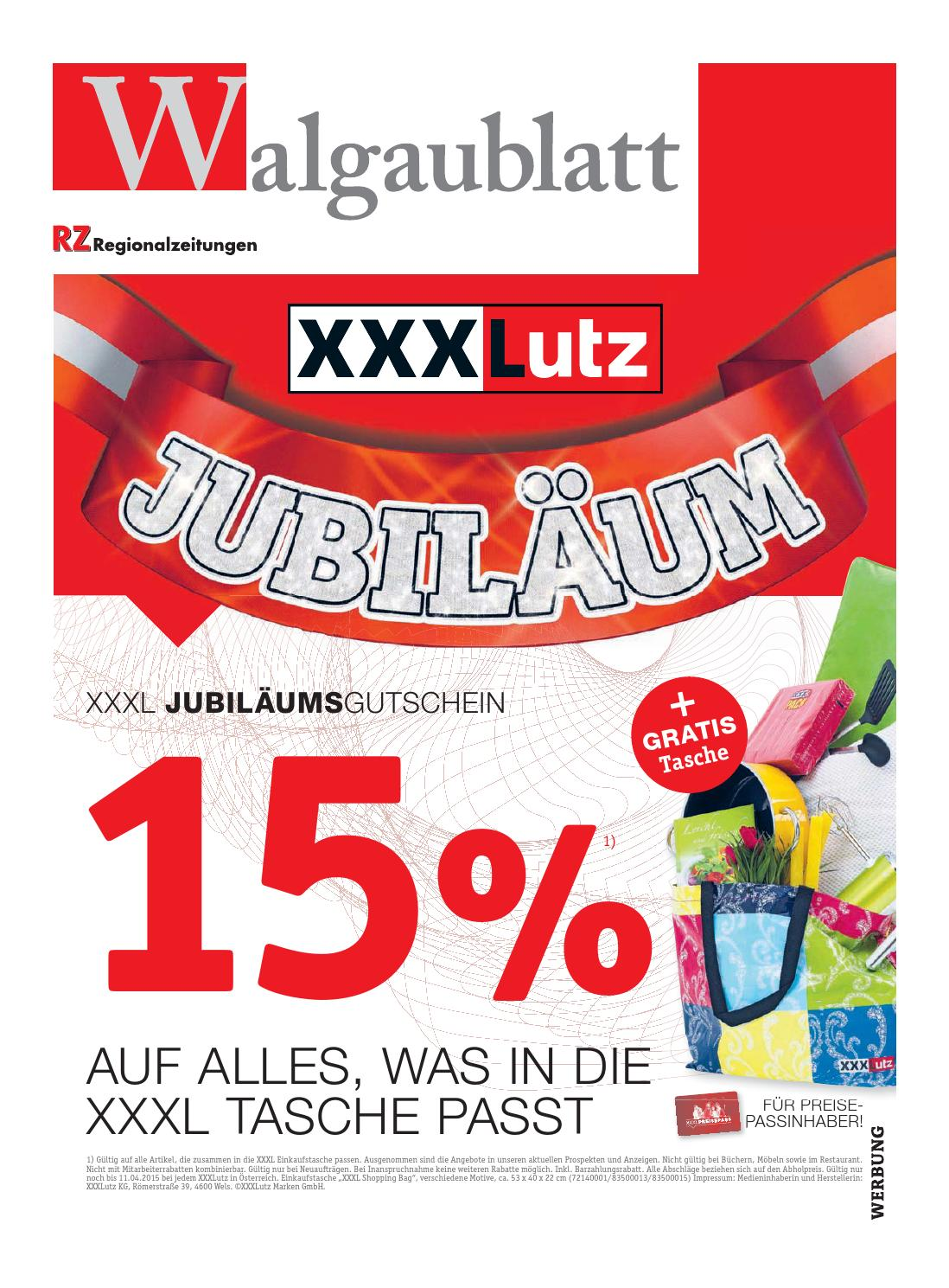 Walgaublatt 15 by Regionalzeitungs GmbH - issuu