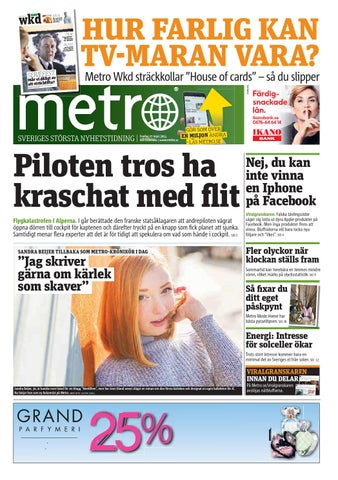 reputable site 88639 bbf70 20150327 se goteborg by Metro Sweden - issuu