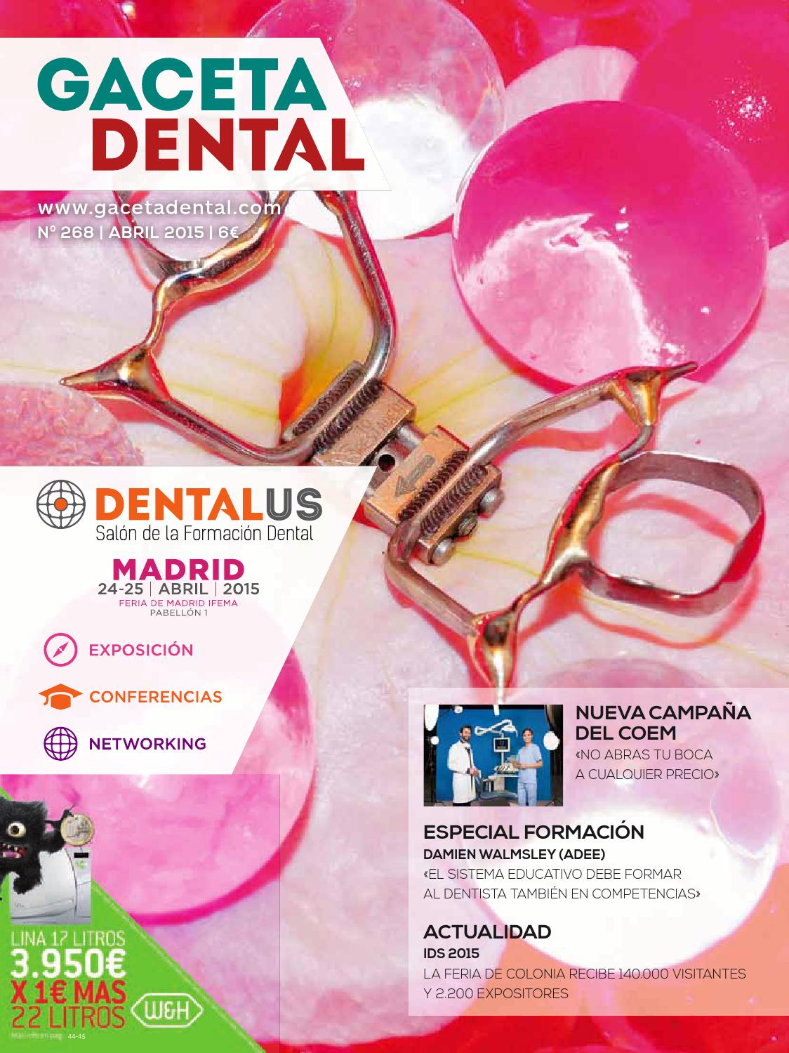 Gaceta Dental - 268 by Peldaño - issuu