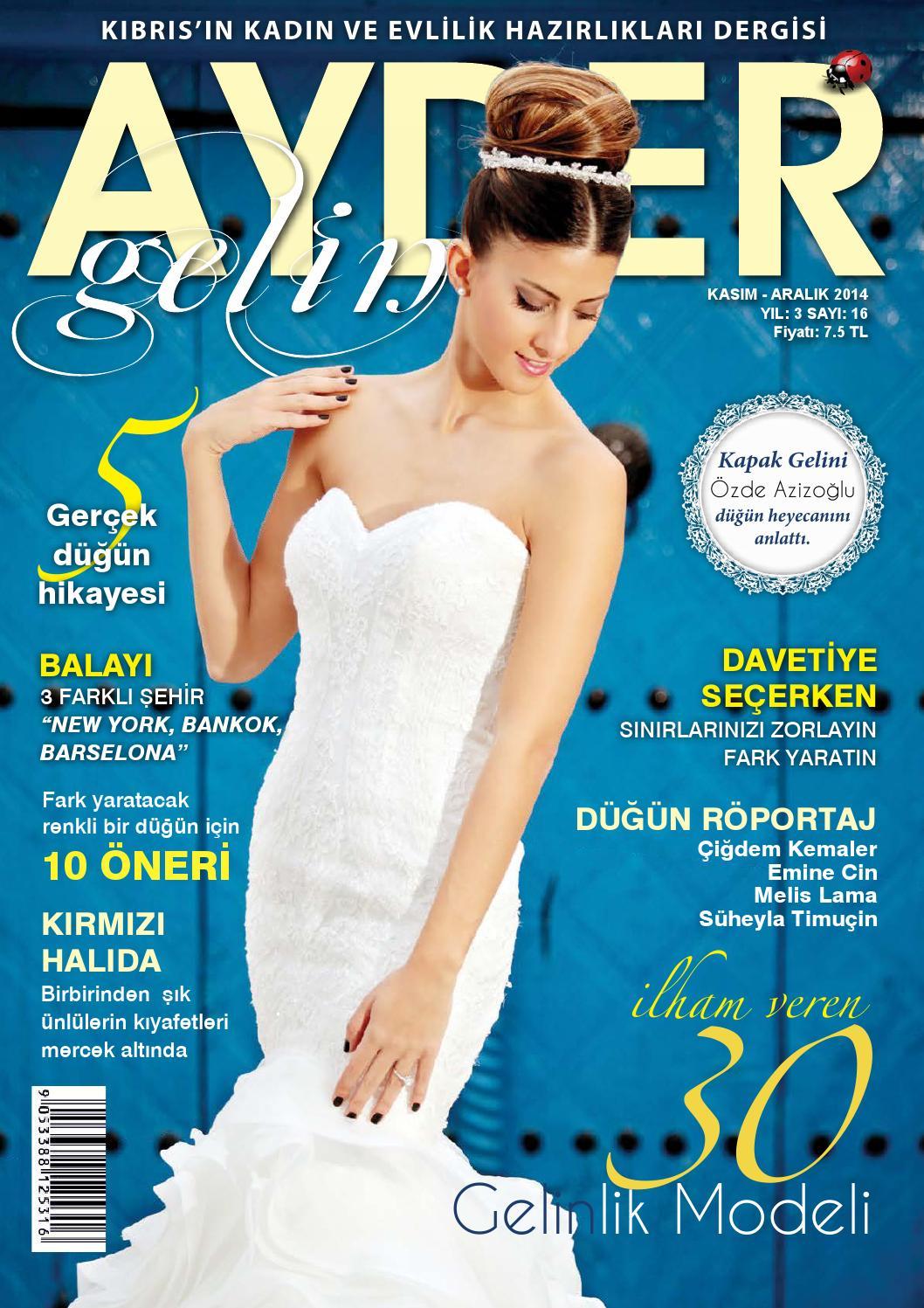 Ayder Gelin Sayı 10 - N.Cyprus Wedding Magazine by ACM I