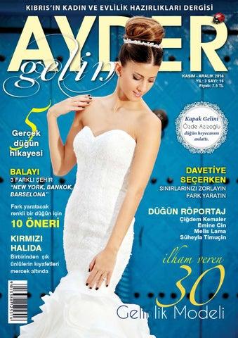 63ffd380fb89e Ayder Gelin Sayı 16 - N.Cyprus Wedding Magazine by ACM I Abrakadabra ...