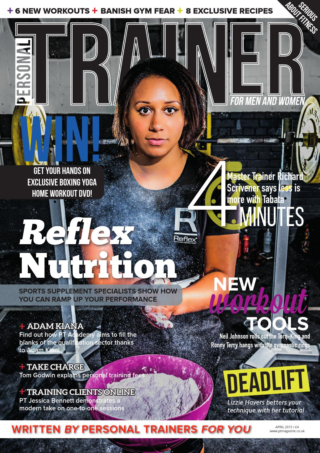 Personal trainer magazine april 2015 by myles davies issuu 1betcityfo Images