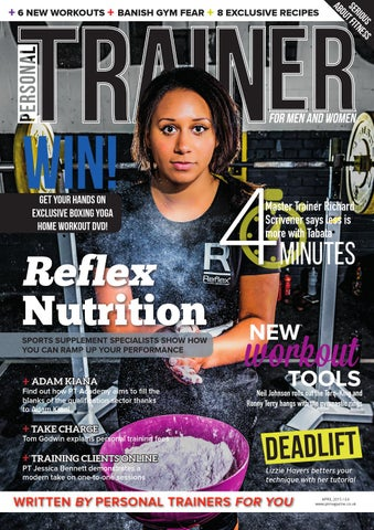 Personal trainer magazine april 2015 by pt live issuu page 1 fandeluxe Gallery