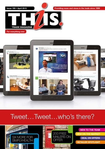 THIIS Trade Magazine - April 15 by THIIS - issuu