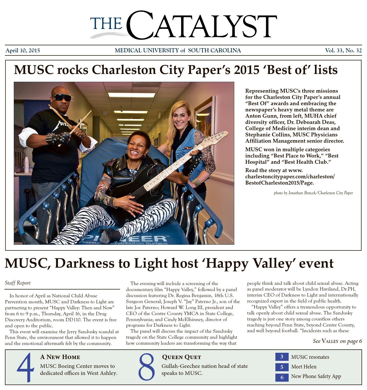 MUSC Catalyst 4-10-2015 by Cindy Abole - issuu