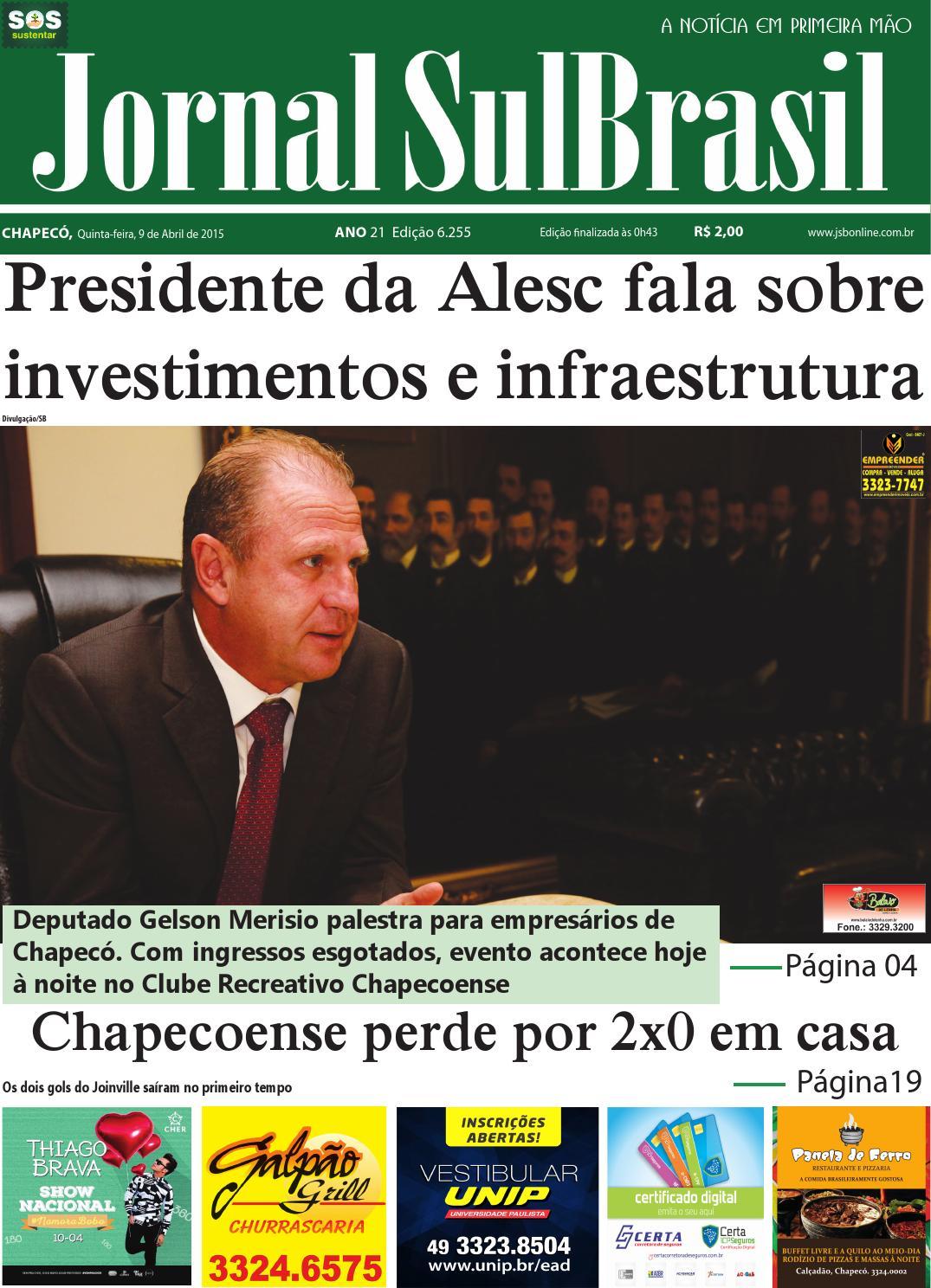 09 quinta sul brasil by Jornal Sul Brasil Chapecó - issuu 23babf36e4