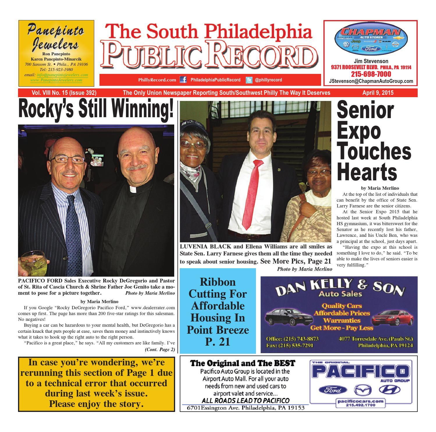 Pacifico Ford Philadelphia: Pr 793 S By The Public Record