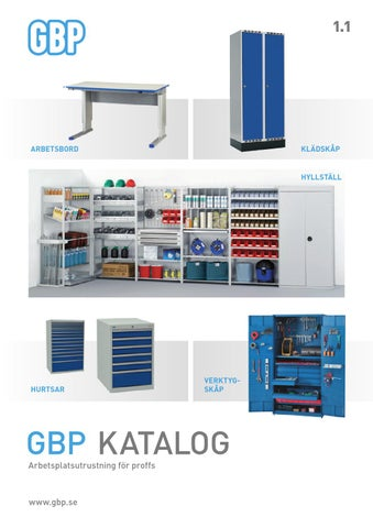 Produktkatalog GBP Ergonomics 2015 by Sono - issuu 5ccc9678cede9