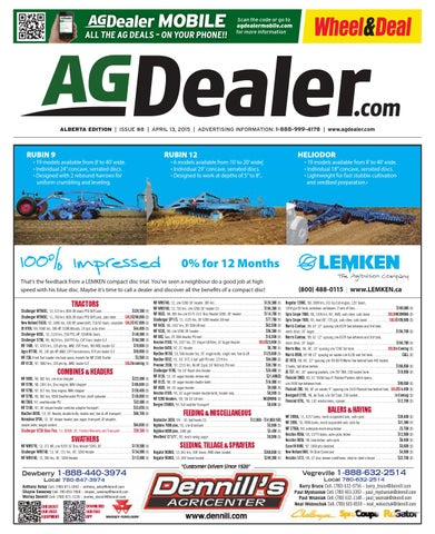 Wheel amp deal alberta april 13 2015 by farm business page 1 fandeluxe Images
