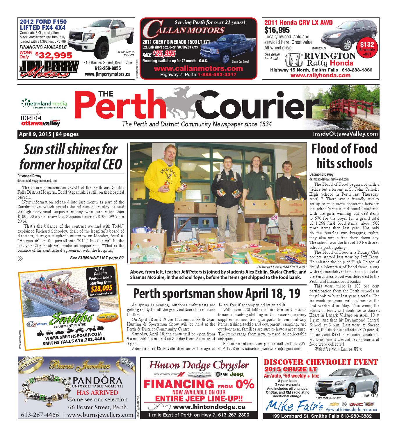 Perth040915 by Metroland East - The Perth Courier - issuu