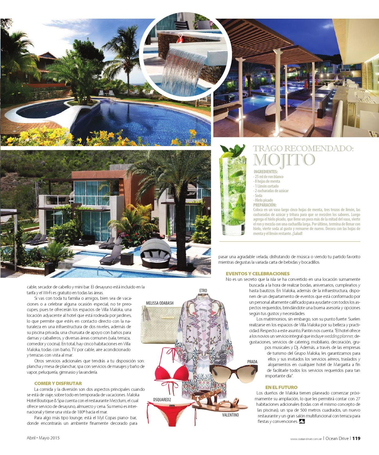 Ocean Drive Abril Mayo 2015 By Grupo Editorial Shop In 98