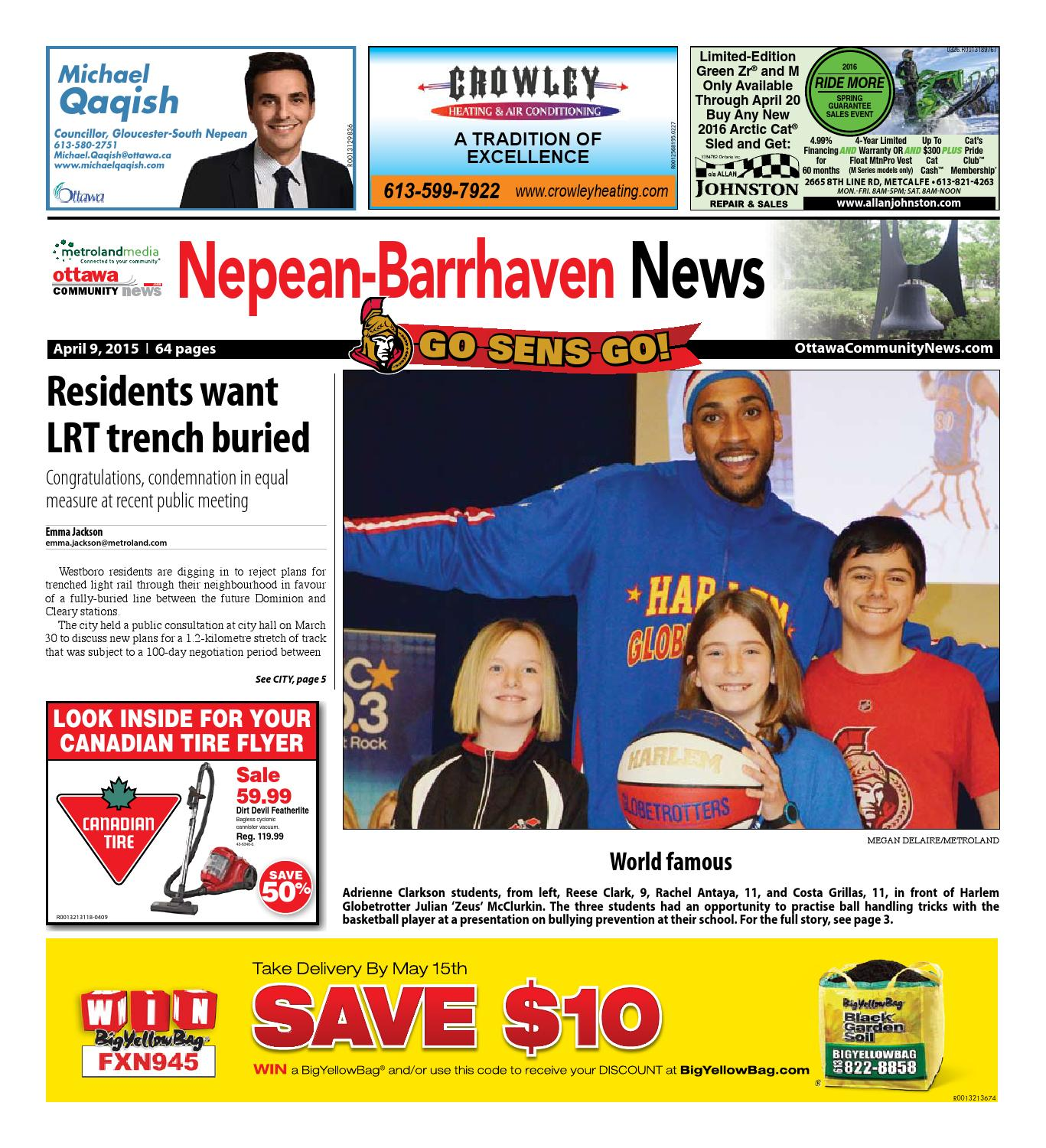 Nepean040915 By Metroland East Nepean Barrhaven News Issuu 10 Cooling Pad Votre F 507