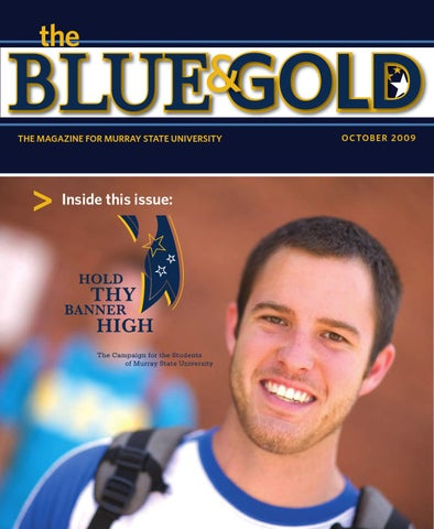 Blue And Gold Fall 2009 By Murray State University Issuu