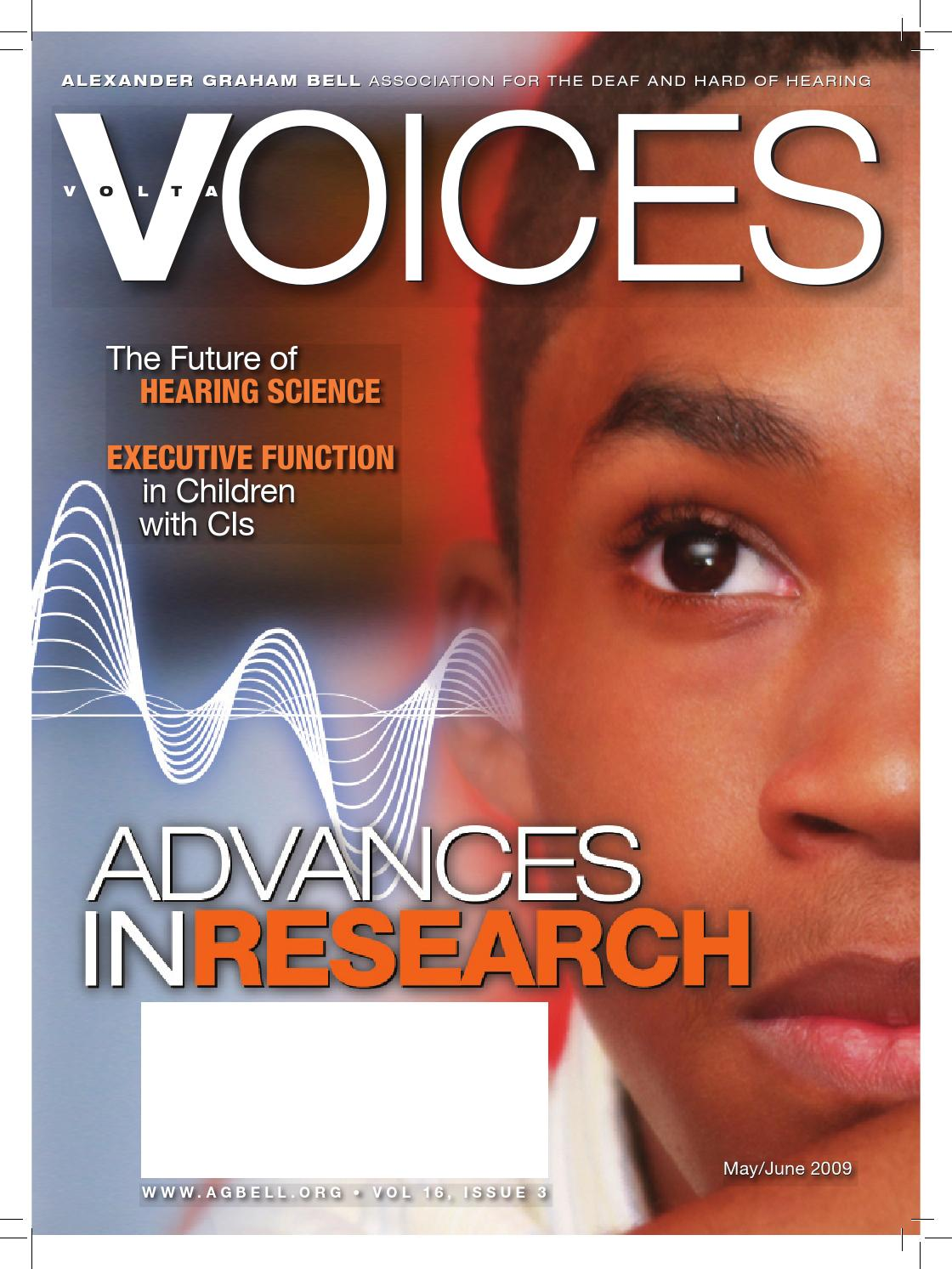 Volta Voices May-June 2009 Magazine by Alexander Graham Bell ...
