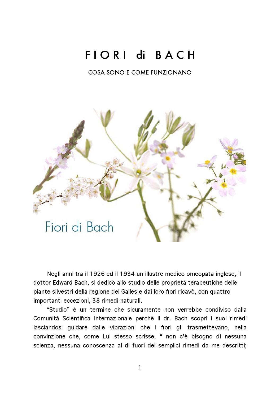 Cosa Sono I Fiori.Fiori Di Bach Cosa Sono E Come Funzionano By Agostino Toselli Issuu