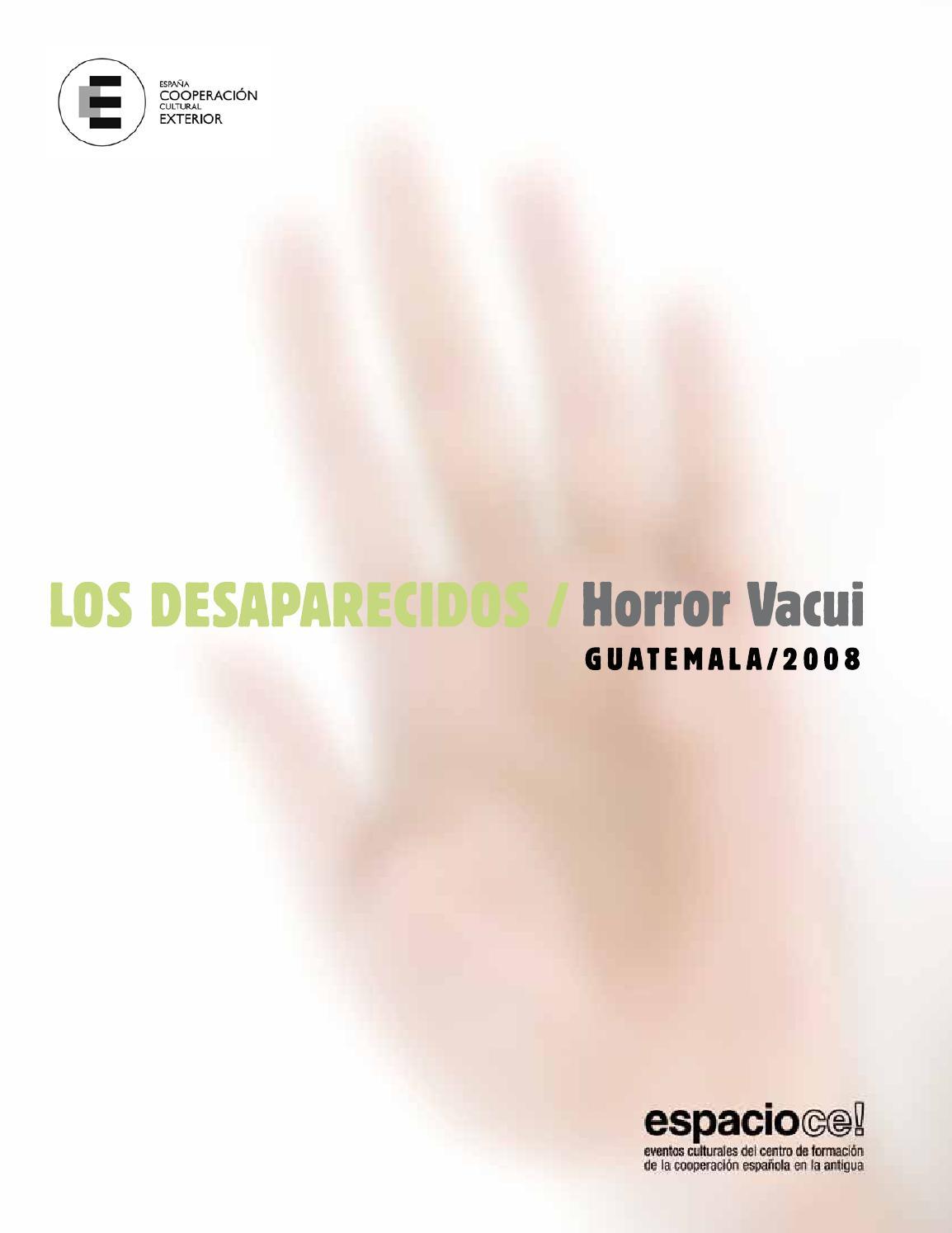 Los desaparecidos by CFCE La Antigua - issuu