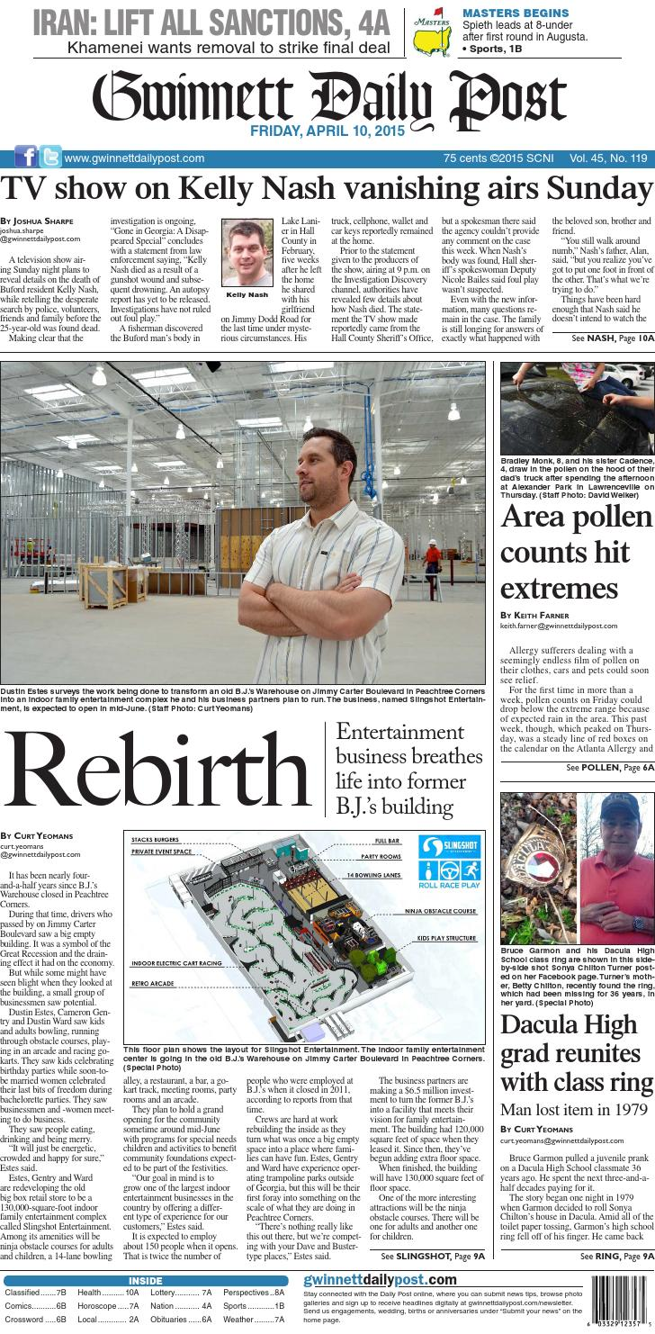 Gwinnett Daily Post a- April 10, 2015 by Gwinnett Daily Post - issuu