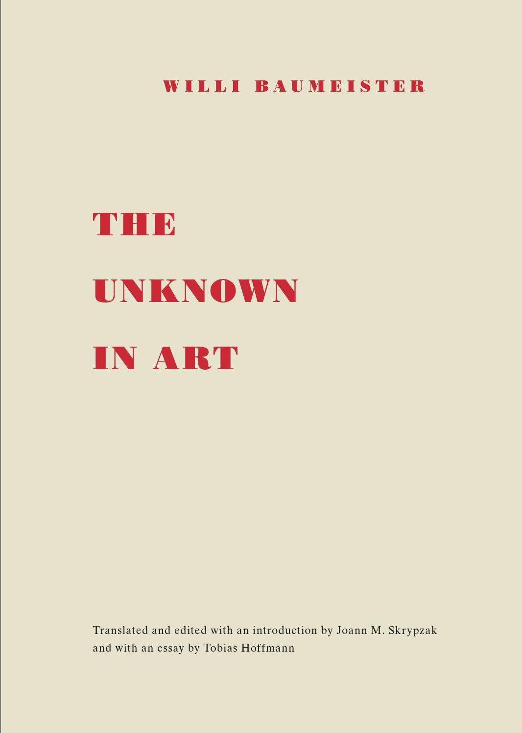 Willi Baumeister The Unknown In Art By Willi Baumeister Stiftung