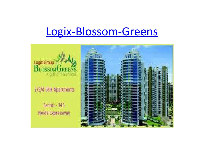 Logix blossom greens by Jp Kumar - issuu