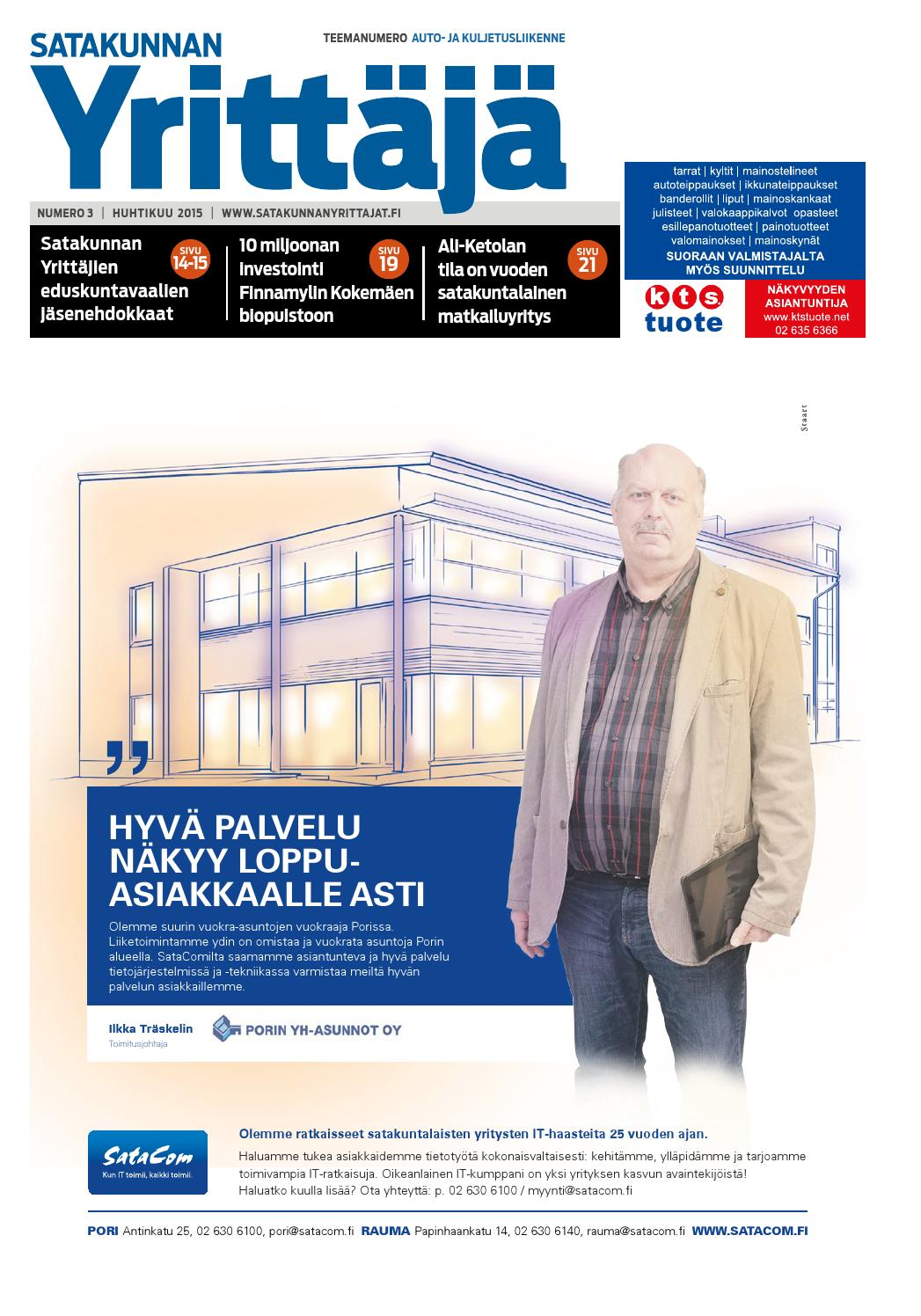 Satakunnan Yrittäjä 3 2015 by Satakunnan Yrittäjät - issuu bad3e427a5